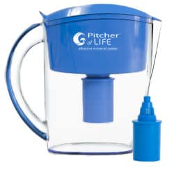 Life Ionizers Pitcher of Life & One Replacement FIlter
