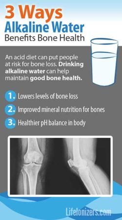 3 Ways Alkaline Water Benefits Bone Health