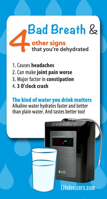 Bad Breath & 4 Other Signs You're Dehydrated