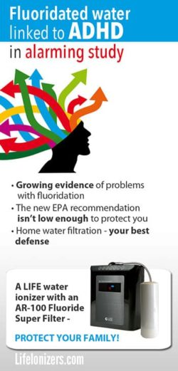 Fluoridated Water Linked to ADHD in Study