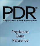 Physician's Desk Reference banner.