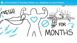 Alkaline Ionized Water vs Bottled Water